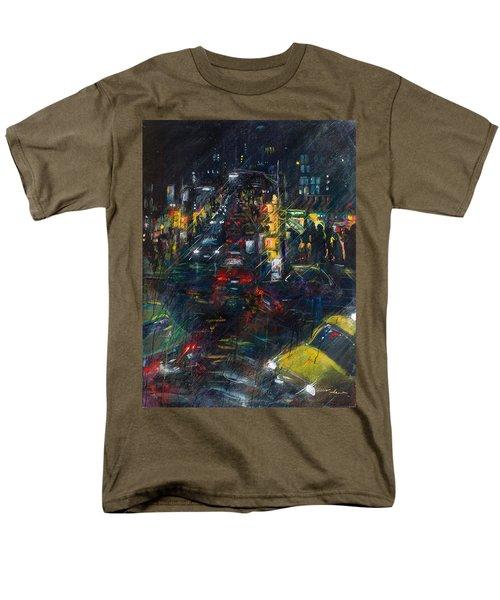 Intersection Men's T-Shirt  (Regular Fit) by Leela Payne