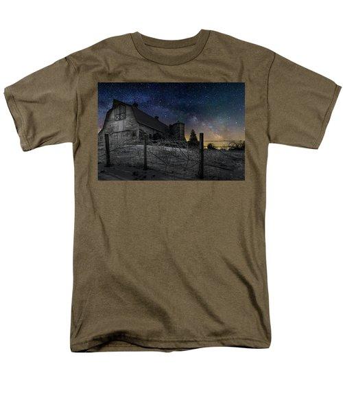 Men's T-Shirt  (Regular Fit) featuring the photograph Interstellar Farm by Bill Wakeley