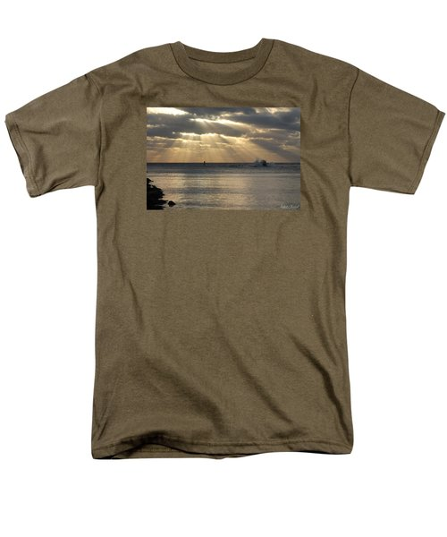 Into Dawn's Early Rays Men's T-Shirt  (Regular Fit) by Robert Banach