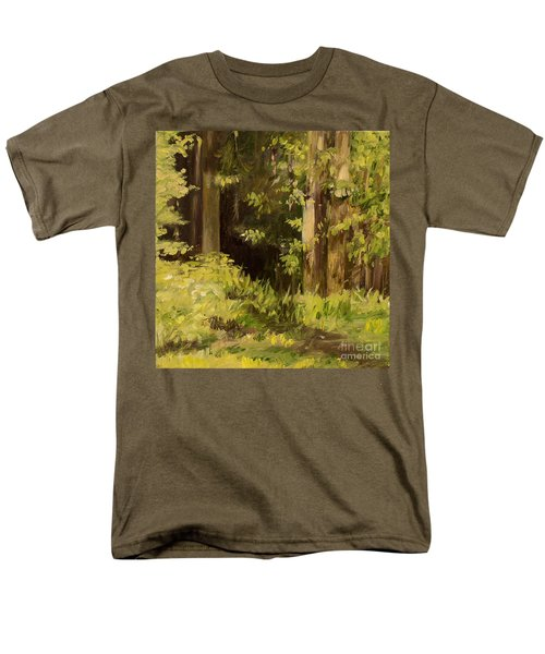 Into The Woods Men's T-Shirt  (Regular Fit) by Laurie Rohner