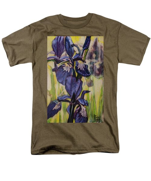 Iris-2016 Men's T-Shirt  (Regular Fit) by Ron Richard Baviello