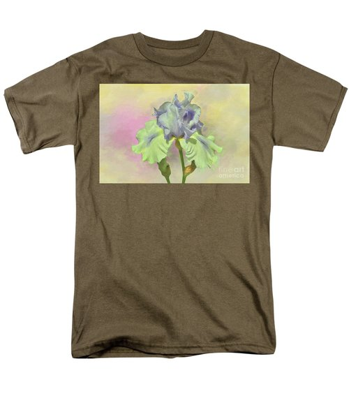 Iris Pastels Men's T-Shirt  (Regular Fit) by Suzanne Handel