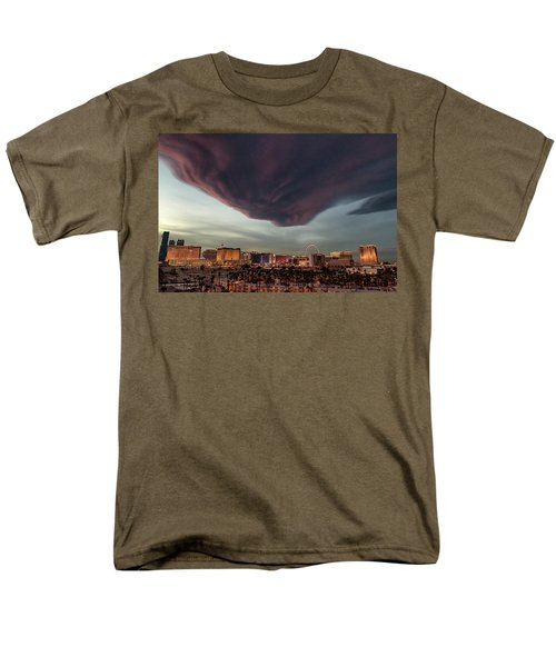 Men's T-Shirt  (Regular Fit) featuring the photograph Iron Maiden Las Vegas by Michael Rogers