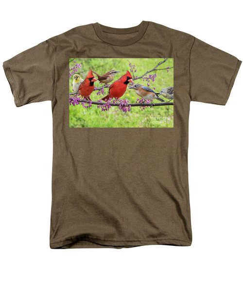 Men's T-Shirt  (Regular Fit) featuring the photograph Is It Spring Yet? by Bonnie Barry