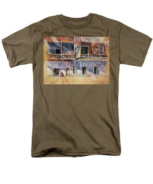 Island Community Men's T-Shirt  (Regular Fit) by Al Brown