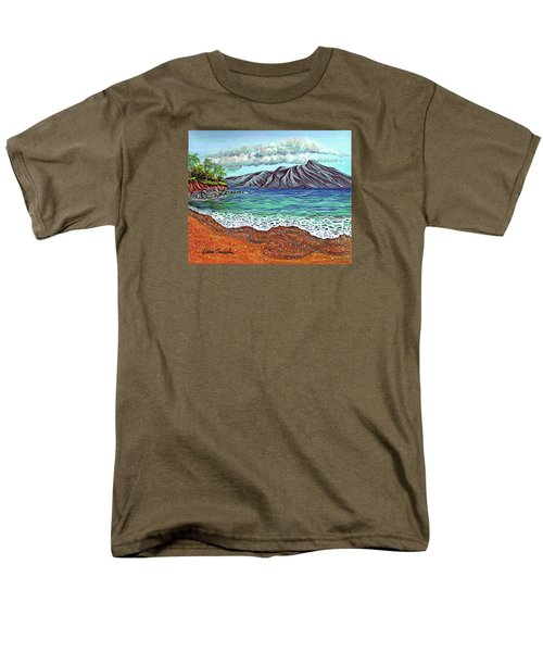 Island Time Men's T-Shirt  (Regular Fit) by Debbie Chamberlin