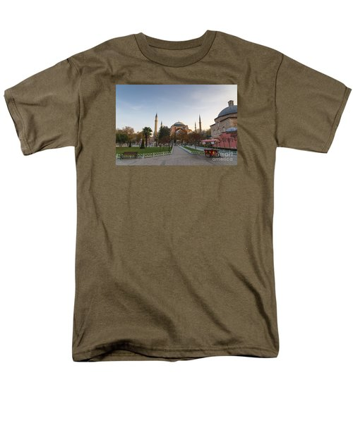 Men's T-Shirt  (Regular Fit) featuring the photograph Istanbul City Center by Yuri Santin