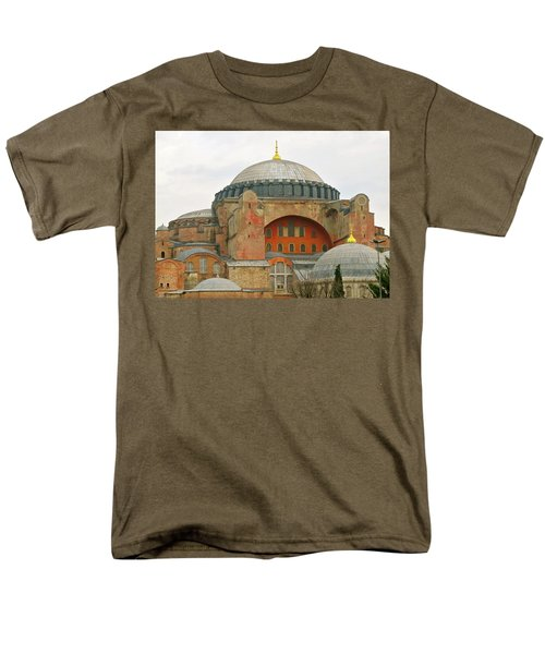 Men's T-Shirt  (Regular Fit) featuring the photograph Istanbul Dome by Munir Alawi