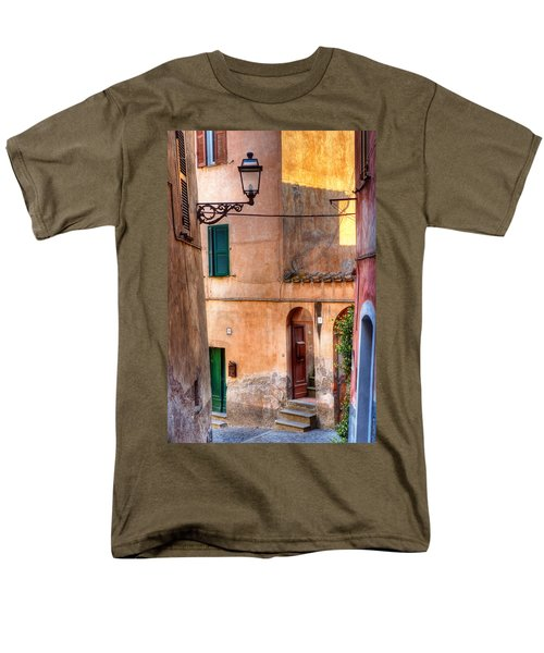Italian Alley Men's T-Shirt  (Regular Fit) by Silvia Ganora
