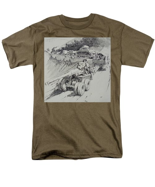Italy 1943. Men's T-Shirt  (Regular Fit) by Mike Jeffries