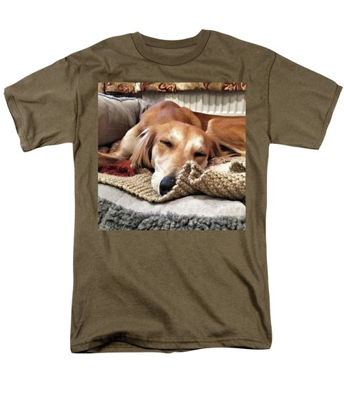 It's Been A Hard Day...  #saluki Men's T-Shirt  (Regular Fit) by John Edwards