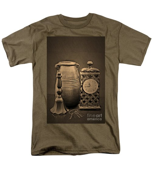 It's Time For... Men's T-Shirt  (Regular Fit) by Sherry Hallemeier
