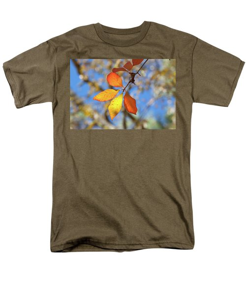 Men's T-Shirt  (Regular Fit) featuring the photograph It's Time To Change by Linda Unger
