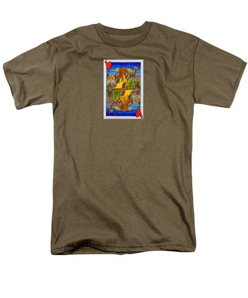 Jack Of Hearts Men's T-Shirt  (Regular Fit) by Matt Konar