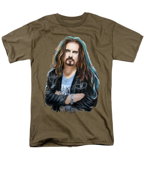 James Labrie Men's T-Shirt  (Regular Fit) by Melanie D