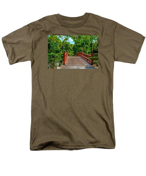 Japanese Bridge  Men's T-Shirt  (Regular Fit) by Louis Ferreira