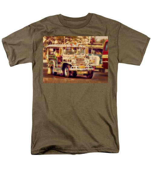 Jeepney Manila Men's T-Shirt  (Regular Fit) by David French