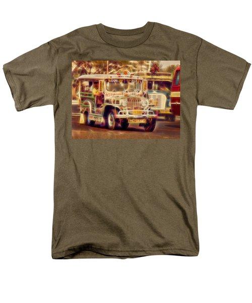 Jeepney Manila Men's T-Shirt  (Regular Fit)