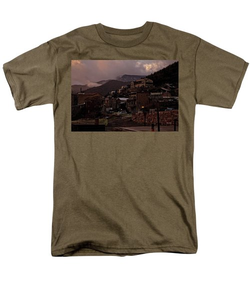 Jerome On The Edge Of Sunrise Men's T-Shirt  (Regular Fit) by Ron Chilston