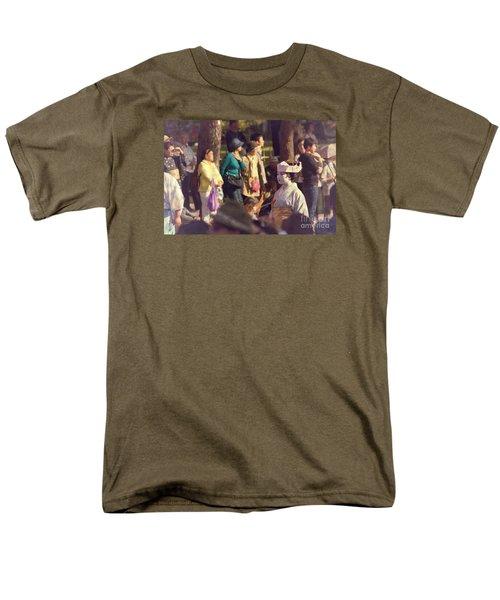 Men's T-Shirt  (Regular Fit) featuring the photograph Jidai Matsuri Xiv by Cassandra Buckley