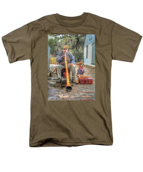 Jim Olds And Tanner Men's T-Shirt  (Regular Fit) by Marion Johnson