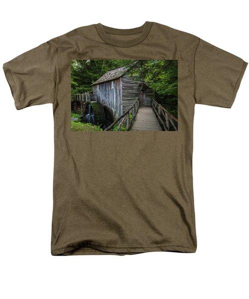 John Cable Mill Men's T-Shirt  (Regular Fit) by David Cote