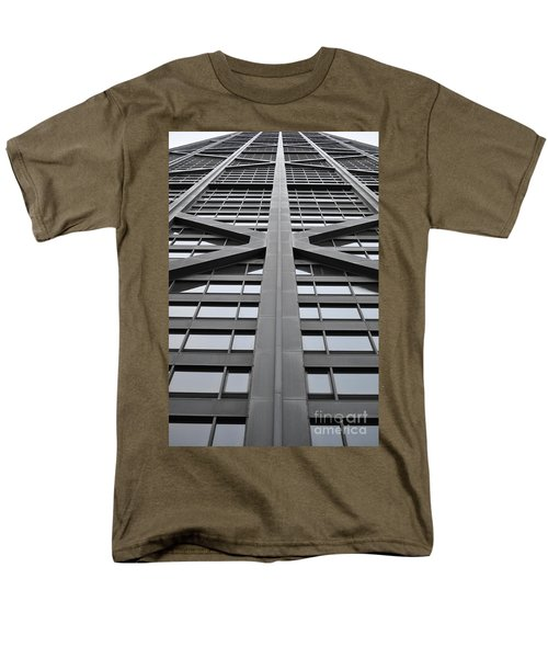 John Hancock Building Men's T-Shirt  (Regular Fit) by Mary Machare
