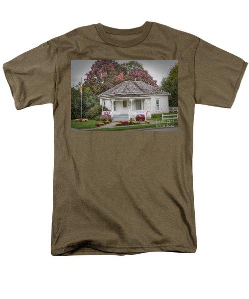 John Wayne Birthplace Men's T-Shirt  (Regular Fit) by Lynn Sprowl
