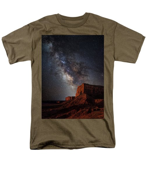 John Wayne Point Men's T-Shirt  (Regular Fit) by Darren White