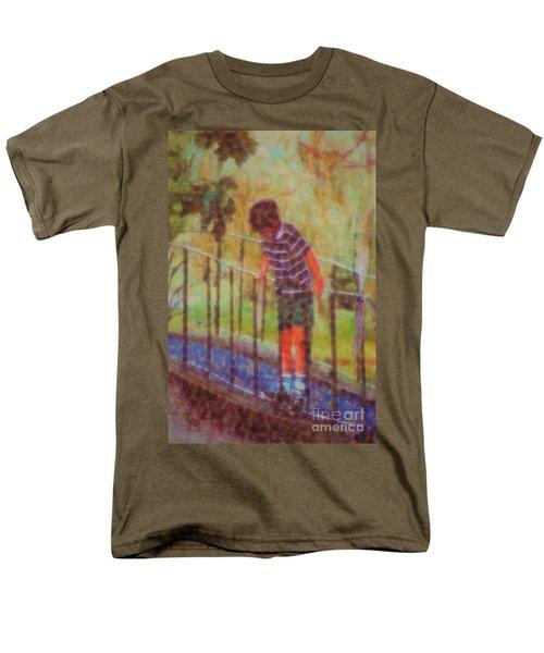 John's Reflection Men's T-Shirt  (Regular Fit) by Donna Bentley