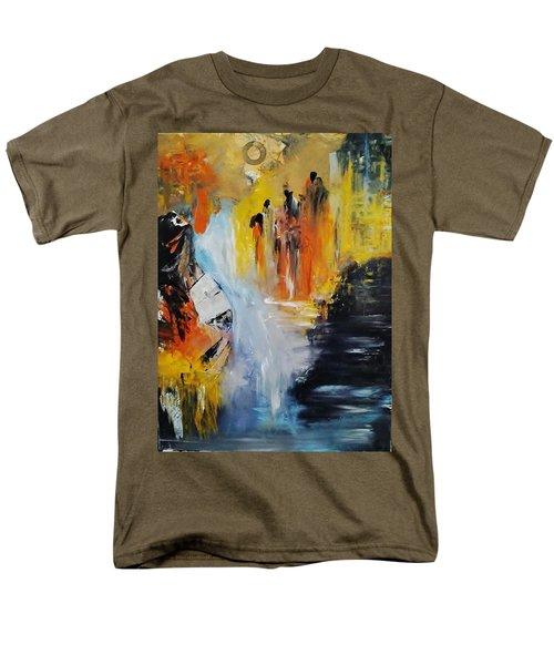 Jordan River Men's T-Shirt  (Regular Fit) by Kelly Turner