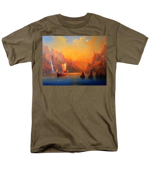 Journey To The Undying Lands Men's T-Shirt  (Regular Fit) by Joe  Gilronan