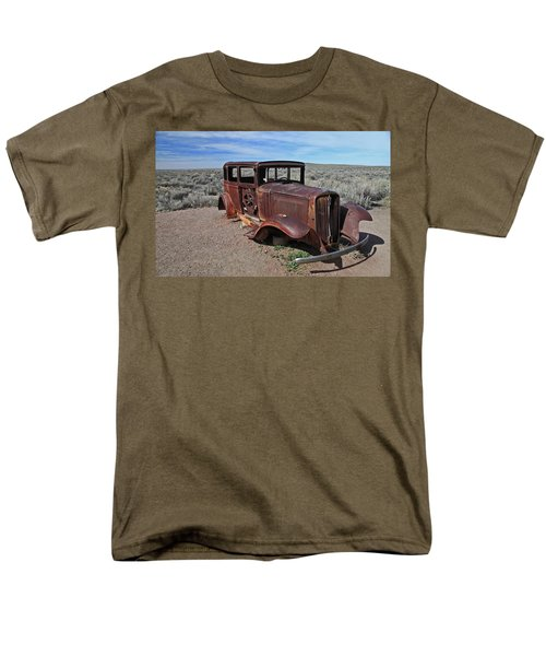 Men's T-Shirt  (Regular Fit) featuring the photograph Journey's End by Gary Kaylor