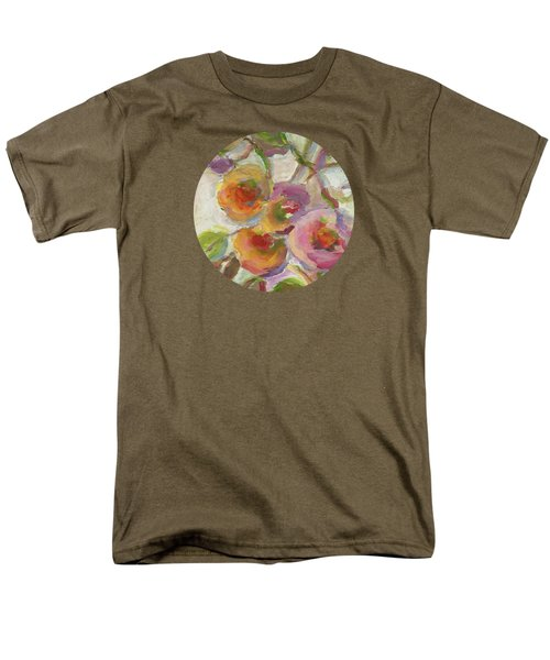 Men's T-Shirt  (Regular Fit) featuring the painting Joy by Mary Wolf