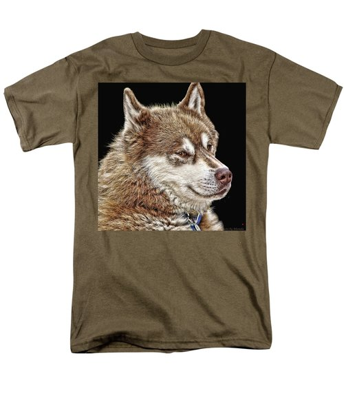 Men's T-Shirt  (Regular Fit) featuring the photograph Juneau by Rhonda McDougall