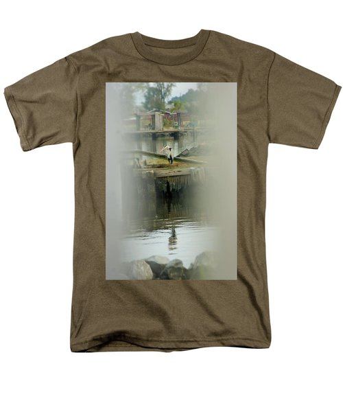 Men's T-Shirt  (Regular Fit) featuring the photograph Just A Little Older With A Little More Grey... by John Glass