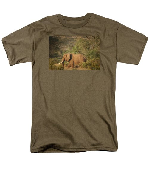 Men's T-Shirt  (Regular Fit) featuring the photograph Just Passing Through by Gary Hall