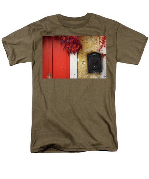 Men's T-Shirt  (Regular Fit) featuring the photograph Just Red by Yuri Santin
