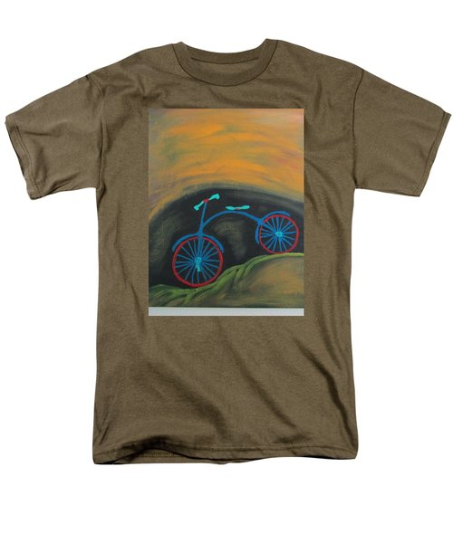 Men's T-Shirt  (Regular Fit) featuring the painting Just Roamin by Sharyn Winters