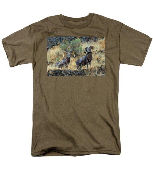 Just Us Men's T-Shirt  (Regular Fit) by Steve Warnstaff