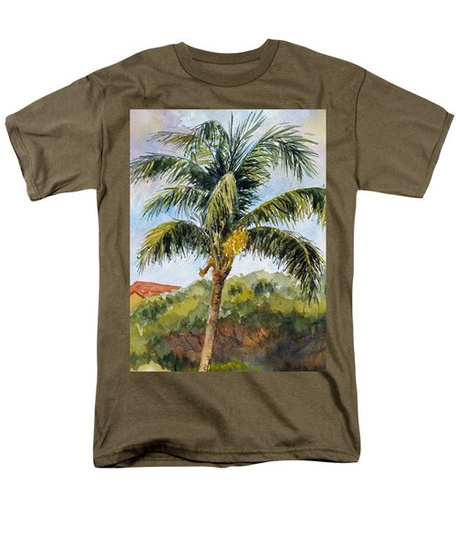 Kaanapali Palm Men's T-Shirt  (Regular Fit) by William Reed
