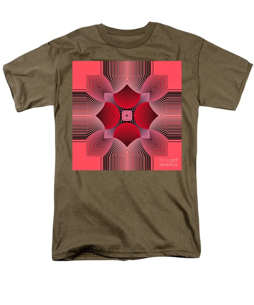 Men's T-Shirt  (Regular Fit) featuring the digital art Kal - 36c77 by Variance Collections