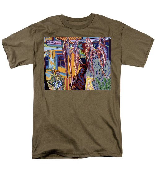 Kathy's Octopuses  Men's T-Shirt  (Regular Fit) by Robert SORENSEN