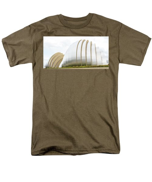 Kauffman Center Performing Arts Men's T-Shirt  (Regular Fit) by Pamela Williams