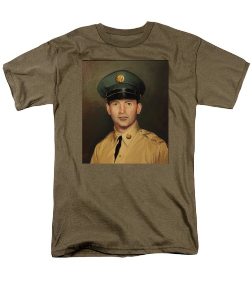 Men's T-Shirt  (Regular Fit) featuring the painting Kenneth Beasley by Glenn Beasley