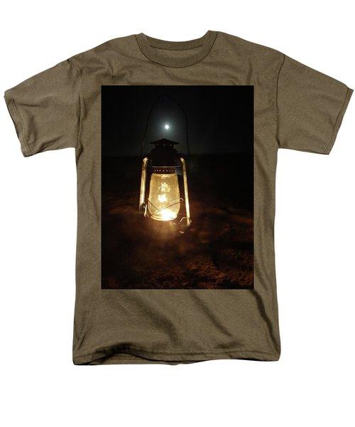 Kerosine Lantern In The Moonlight Men's T-Shirt  (Regular Fit) by Exploramum Exploramum