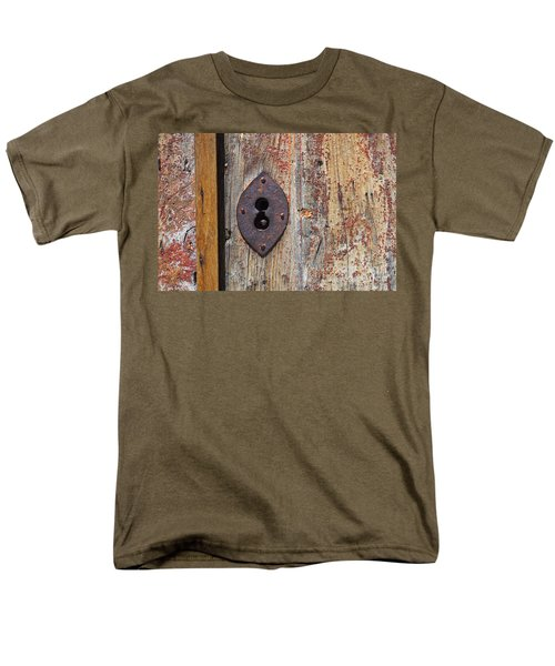 Key Hole Men's T-Shirt  (Regular Fit) by Carlos Caetano