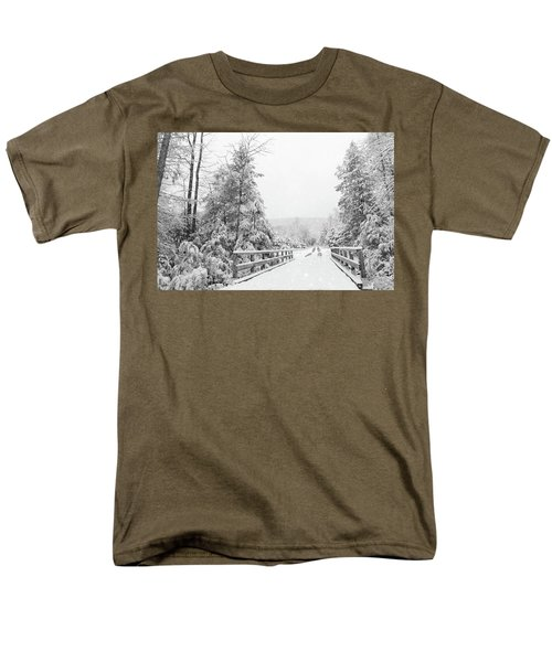 Men's T-Shirt  (Regular Fit) featuring the photograph Kindness Is Like Snow by Lori Deiter
