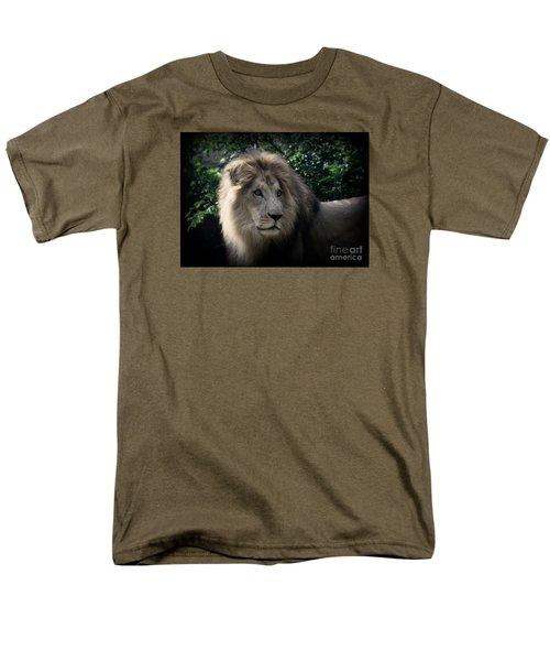 Men's T-Shirt  (Regular Fit) featuring the photograph King Kamau by Lisa L Silva