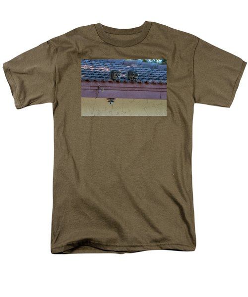 Kits On The Roof Men's T-Shirt  (Regular Fit) by Dorothy Cunningham